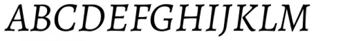 Alegreya ht Pro Italic Font UPPERCASE
