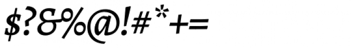 Alegreya ht Pro Medium Italic Font OTHER CHARS