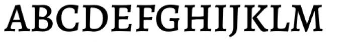 Alegreya ht Pro Medium Font UPPERCASE