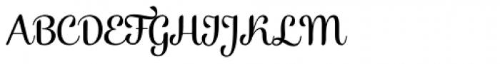 Alek Regular Font UPPERCASE