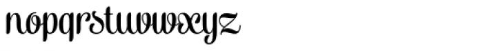 Alek Regular Font LOWERCASE