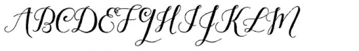 Aleka Font UPPERCASE