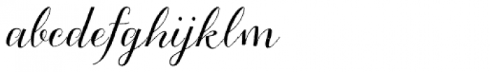 Aleka Font LOWERCASE