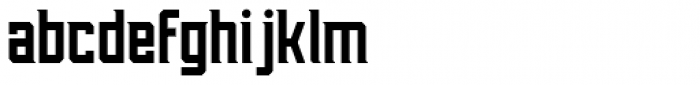 Aleksei Solid Font LOWERCASE
