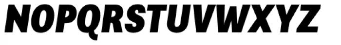 Alergia Grotesk Condensed Blackitalic Font UPPERCASE