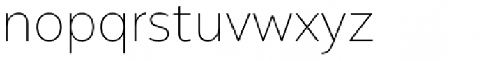 Alergia Grotesk Normal Thin Font LOWERCASE