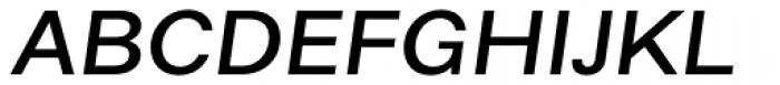 Alergia Grotesk Wide Medium Italic Font UPPERCASE