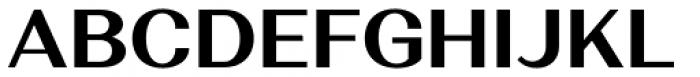 Alethia Next Bold Upright Font UPPERCASE