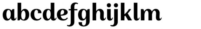 Alethia Next Bold Upright Font LOWERCASE