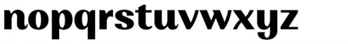 Alethia Next Extra Bold Upright Font LOWERCASE