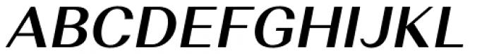 Alethia Pro Semi Bold Italic Font UPPERCASE