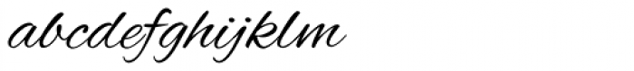 Alex Brush ROB Font LOWERCASE