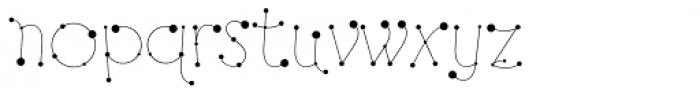 Alex Calder Regular Font LOWERCASE
