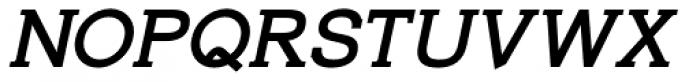 Alexandar Subheading Italic Font UPPERCASE