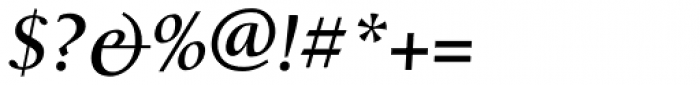 Alexandra Bold Italic Font OTHER CHARS