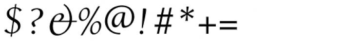 Alexandra Italic Font OTHER CHARS
