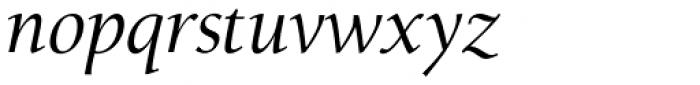 Alexandra Italic Font LOWERCASE