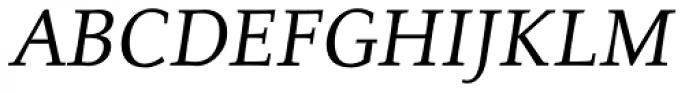 Alexandra Medium Italic Font UPPERCASE
