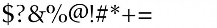 Alexandra Medium Font OTHER CHARS