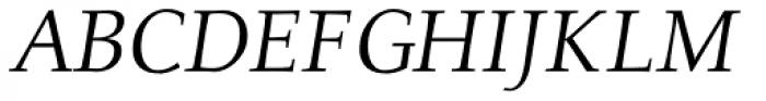 Alexandra OsF Italic Font UPPERCASE
