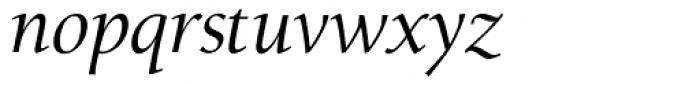Alexandra OsF Italic Font LOWERCASE