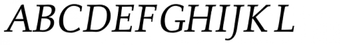 Alexandra OsF Medium Italic Font UPPERCASE