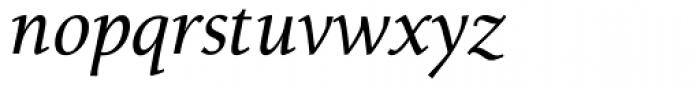 Alexandra OsF Medium Italic Font LOWERCASE