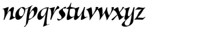Alexia Classic Italic Font LOWERCASE