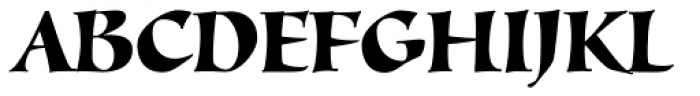 Alexia Classic Font UPPERCASE