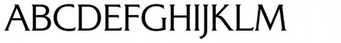 Alexon RR Small Caps Light Font UPPERCASE