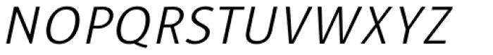 Alfabetica Extra Light Italic Font UPPERCASE