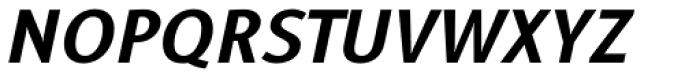 Alfabetica Heavy Italic Font UPPERCASE