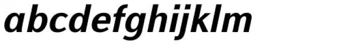 Alfabetica Heavy Italic Font LOWERCASE