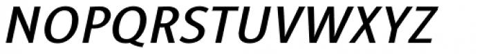 Alfabetica Semi Bold Italic Font UPPERCASE