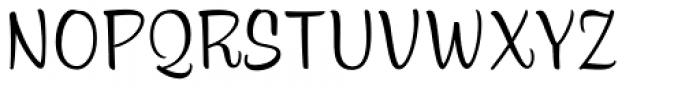 Alfie Casual Small Caps Font UPPERCASE