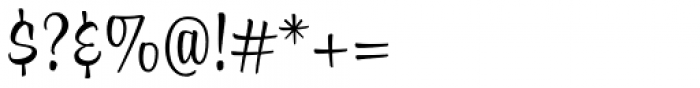 Alfie Script Regular Font OTHER CHARS
