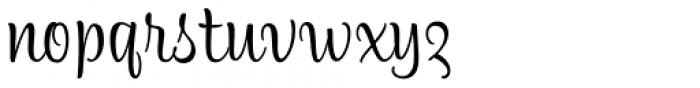 Alfie Script Regular Font LOWERCASE