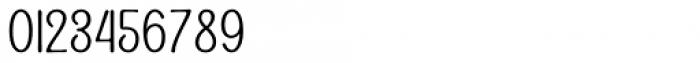 Alfons Condensed Regular Font OTHER CHARS
