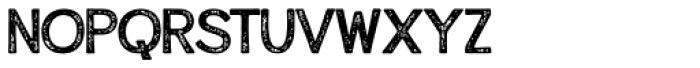 Alfons Display Regular Print Font LOWERCASE