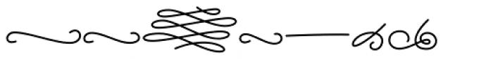 Alfons Ornaments Medium Font UPPERCASE
