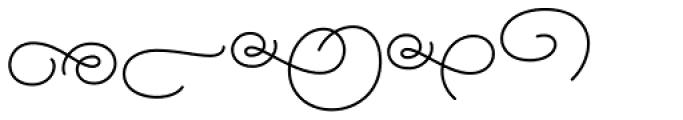 Alfons Ornaments Regular Font UPPERCASE
