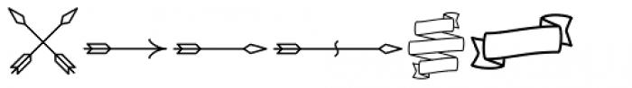 Alfons Ornaments Regular Font LOWERCASE