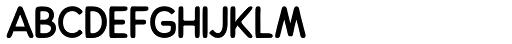 Alfons Sans Black Font UPPERCASE