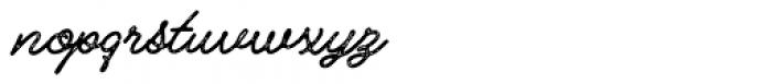 Alfons Script Printed2 Font LOWERCASE