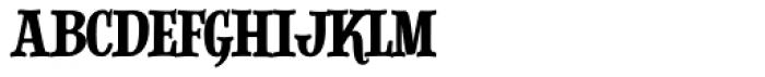 Alfons Slab Regular Font LOWERCASE