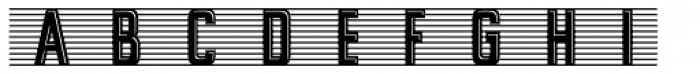 Alfrere Banner Incised Font UPPERCASE