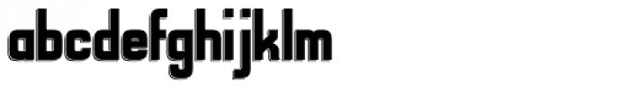 Alfrere Sans Black Font LOWERCASE