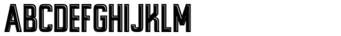 Alfrere Sans Incised Font UPPERCASE