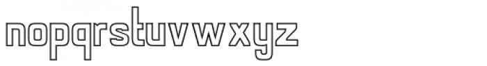 Alfrere Sans Openface Font LOWERCASE