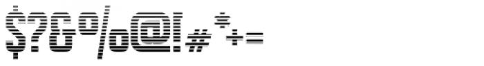 Alfrere Sans Stripes Font OTHER CHARS